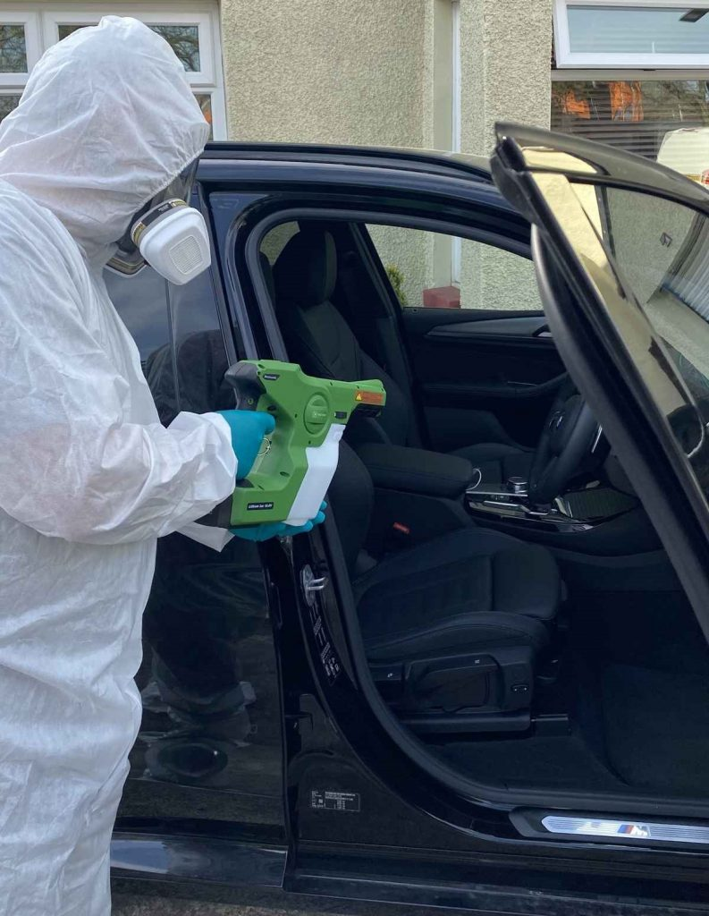 vehicle disinfection services