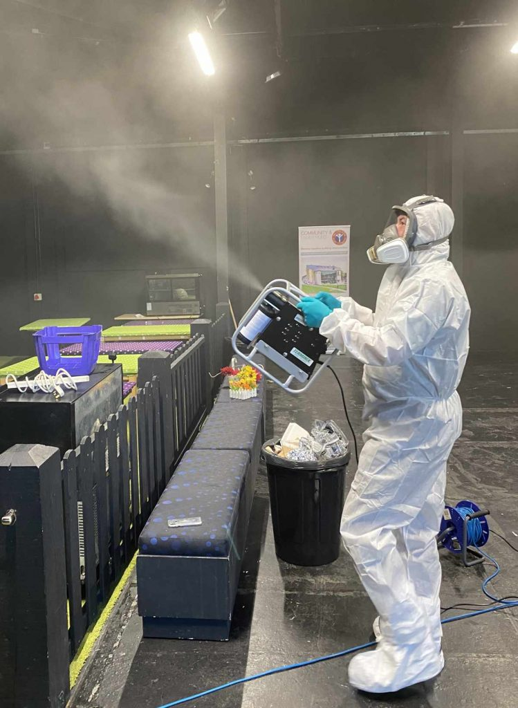 Site Disinfection Services Isle of Wight