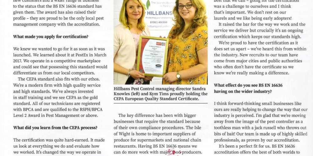 Hillbans Featured in PPC95 Magazine