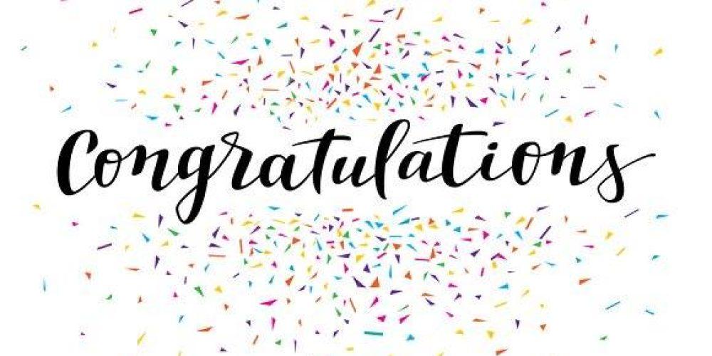 Congratulations to Kym!
